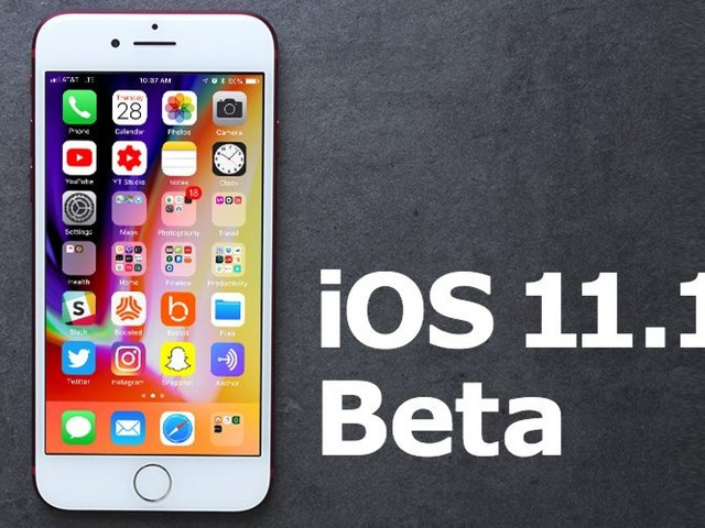 Apple Seeds Fourth Beta of iOS 11.1 to Developers