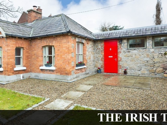 Dundrum gate lodge as pretty as a picture for €575k