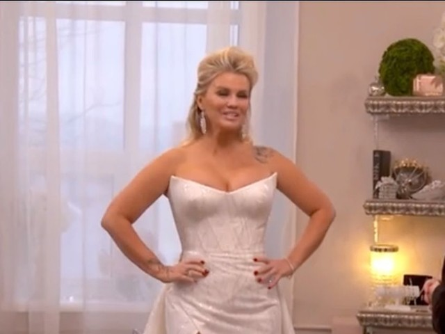 Kerry Katona teases look at her wedding dress ahead of fourth marriage