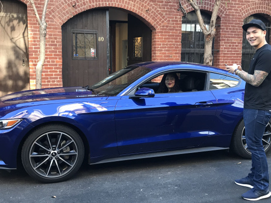 Ford's Canvas monthly car subscription car service expands to LA