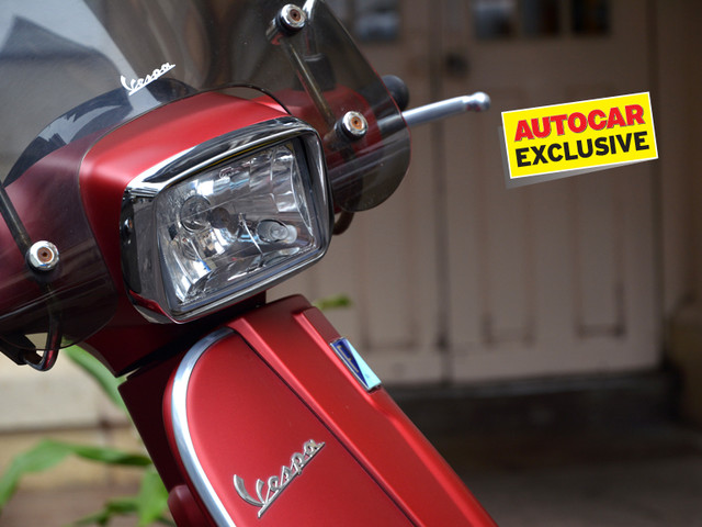 Piaggio to launch fuel-injected Vespa with LED headlamp by year end