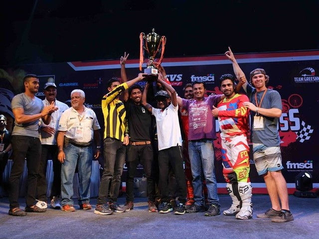 Final Results of Pune Invitational Supercross League 2017