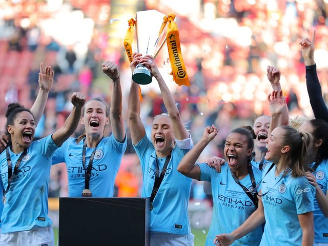 Man City Women win Continental Cup after dramatic penalty shoot-out