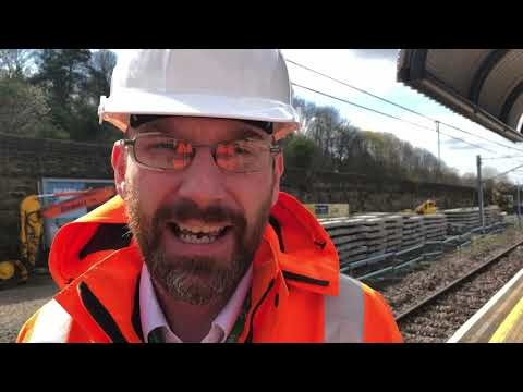 Metro track replacement work in Gateshead nears completion