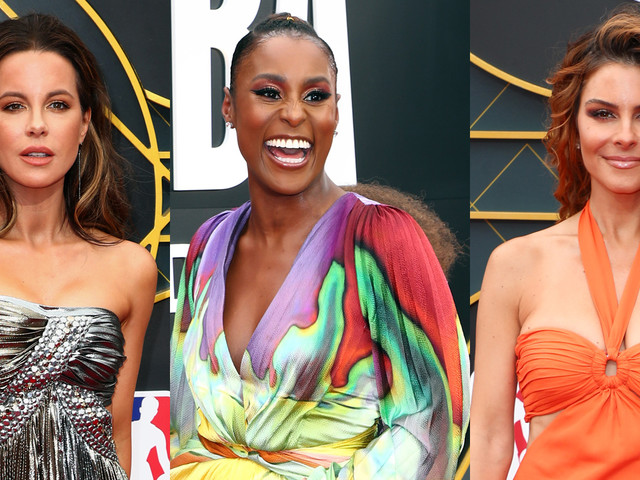 Kate Beckinsale, Issa Rae, & Maria Menounos Dazzle at NBA Awards 2019