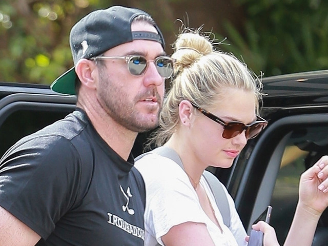 Kate Upton & Husband Justin Verlander Grab Lunch in Beverly Hills