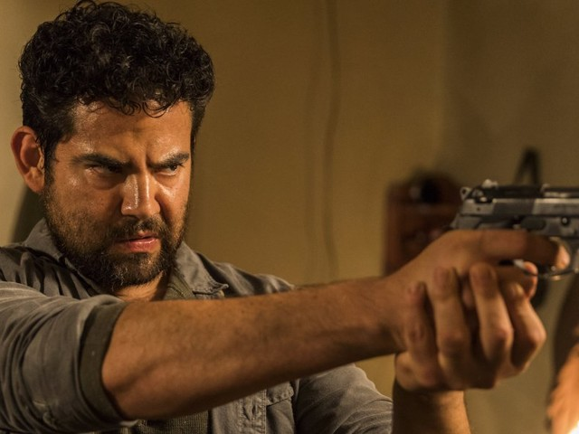 'The Walking Dead' actor talks his big return and how he may not be the villain you think