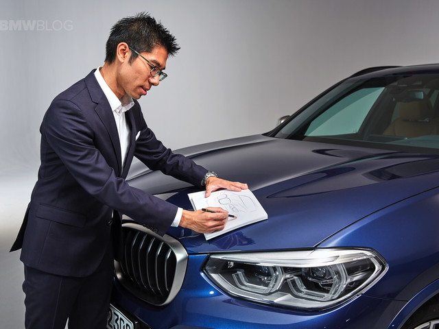 We talk with Calvin Luk about the new BMW X3's design