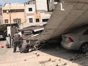 A 7.1-magnitude earthquake has hit Mexico, and people are posting terrifying photos and videos on social media