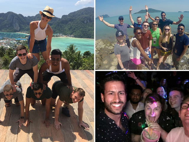'Britain's best bosses' takes all of their staff on month-long luxury holiday to Thailand, India and Mexico