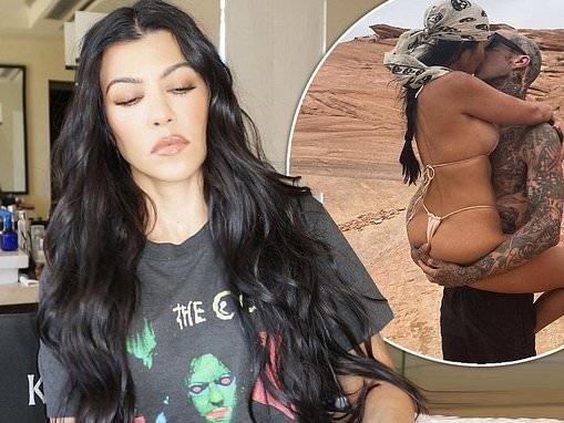 Kourtney Kardashian and beau Travis Barker have 'talked about getting ENGAGED'