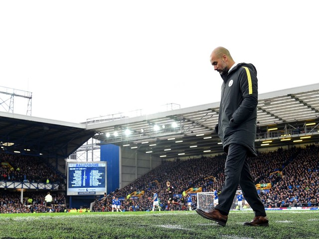 Ten points adrift of Chelsea, Guardiola first to concede in Premier League title race