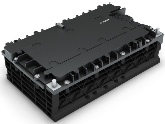Bosch introduces new 48V Li-ion pack for mild-hybrids; production in 2018