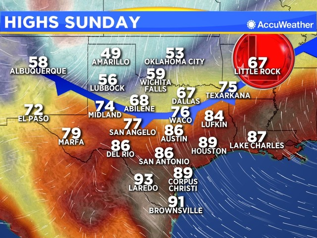 ONE MINUTE WEATHER: Our first real fall front moves through Monday morning