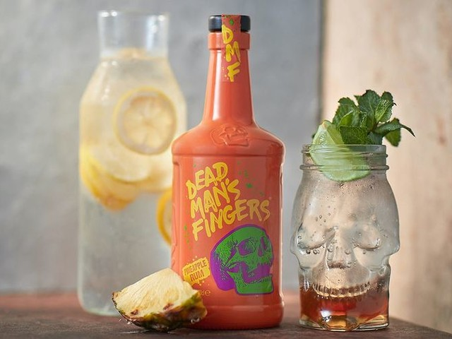 Spiced Pineapple Spirits - The Dead Man's Fingers Pineapple Rum Has Hints of Sweetness (TrendHunter.com)