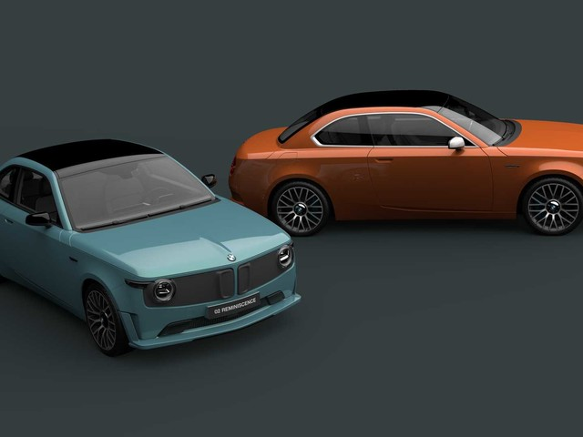 Video: BMW 02 Reminiscence Concept is a modern 1602 EV
