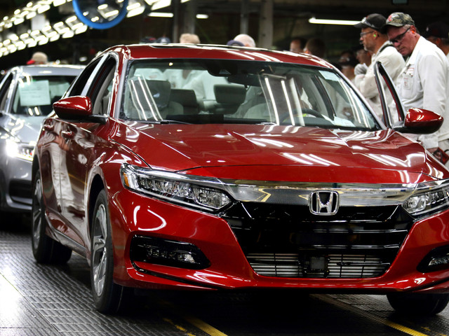 American Honda Believes Sales of the New Honda Accord Won't Fall, Sinks $267 Million Into Ohio Plant