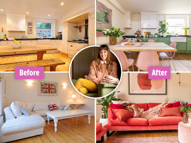 I turned my shabby rental house into a colourful paradise on a budget – my cheap tricks could save you thousands
