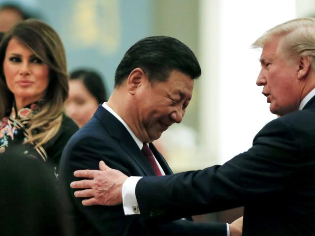 Trump warns China to treat Hong Kong 'humanely'