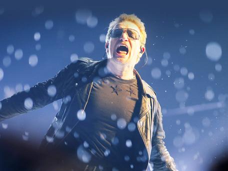 Watch: U2's Bono makes surprise appearance at Snow Patrol Ward Park show