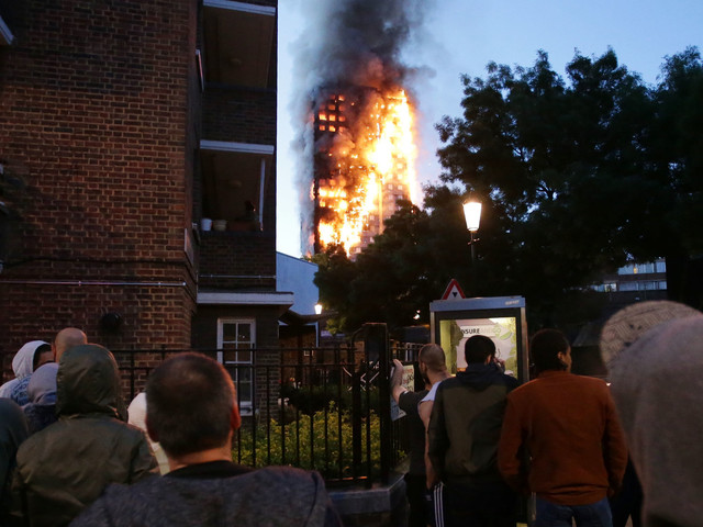 London Fire At Grenfell Tower: Terrifying Eyewitness Accounts Of People On Fire Jumping From Windows