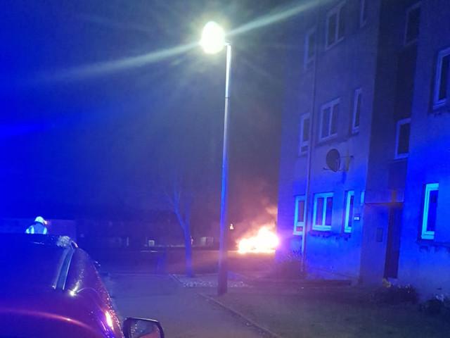 Fire crews called to suspicious car blaze near Aberdeen primary school