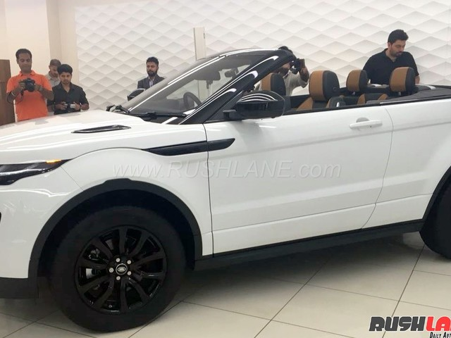 Range Rover Evoque Convertible Suv India Launch Price Rs 69 53 Lakh