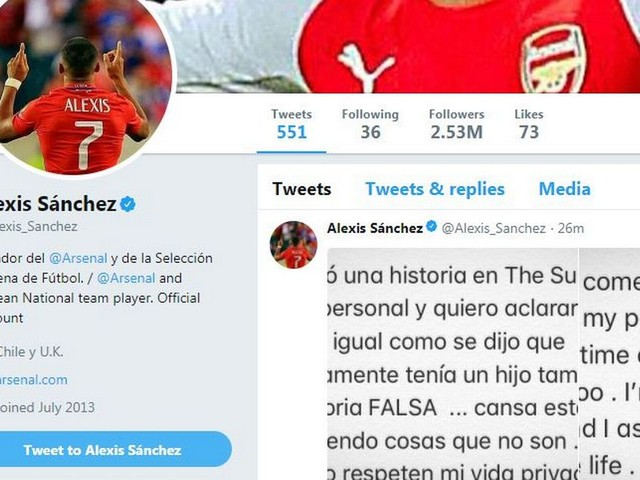 Alexis Sanchez breaks Twitter silence ahead of completing Manchester United transfer
