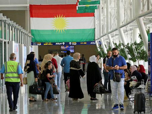 Foreigners leave Iraqi Kurdistan before flight ban
