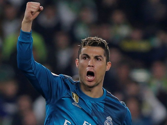 Cristiano Ronaldo equals another Real Madrid record with goal in 5-3 win over Real Betis
