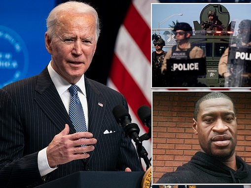Joe Biden will order national policing commission in wake of George Floyd's death