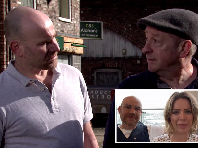Coronation Street's Joe Duttine says Tim is 'in denial' about evil dad Geoff Metcalfe