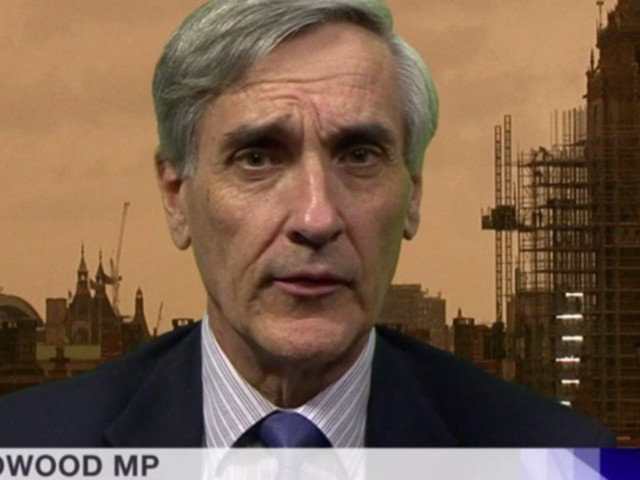 Storm Ophelia: John Redwood's Red Sky Backdrop On The BBC Is Freaking Everyone Out