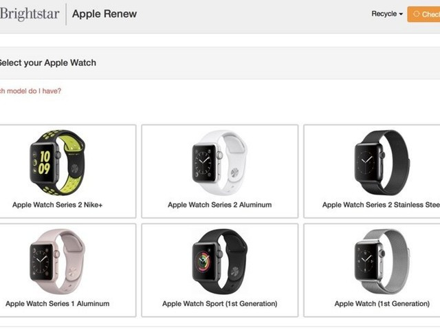 Apple Introduces New Apple Watch Recycling Program Offering Gift Cards Up To $175