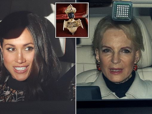 Meghan Markle felt Princess Michael of Kent's controversial 'blackamoor' brooch was 'a message'
