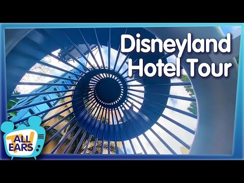 All Ears TV: We Tour the ORIGINAL Disney Resort: The Disneyland Hotel