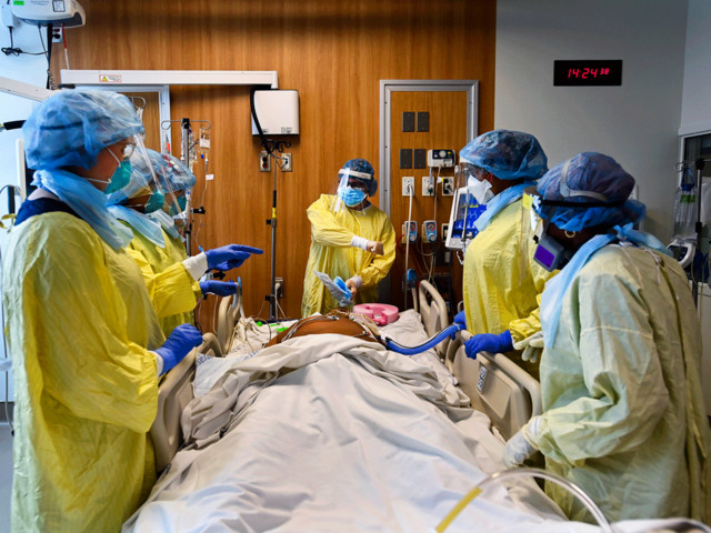 A plan of last resort: Choosing who lives and dies if ICUs turn into virus war zones
