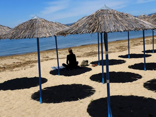 Greece thinks tourists will be able to visit as early as July after the country had a successful coronavirus lockdown