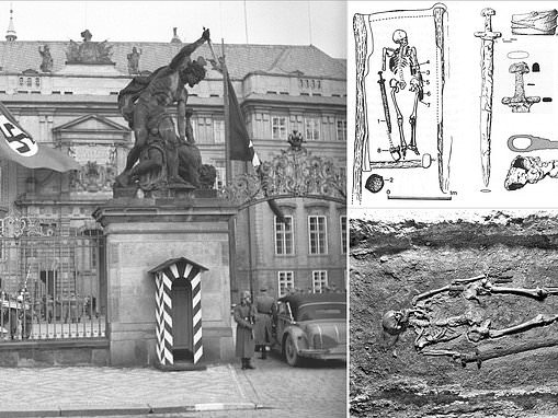 Archaeologists are baffled by a 1,000-year-old skeleton used by the Nazis and Soviets as propaganda