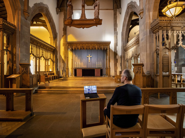 Clergy move prayers, services online to support congregations amid pandemic