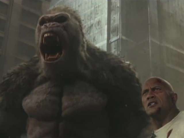 The Trailer for Rampage Seems to Have a Pretty Tenuous Grasp on Scientific Principles