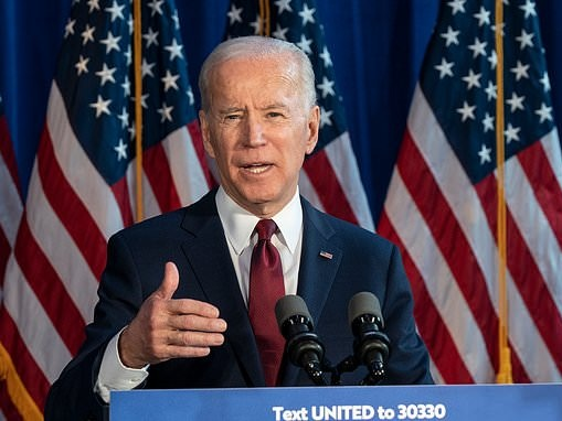 RUTH SUNDERLAND: Wall Street warms to Joe Biden