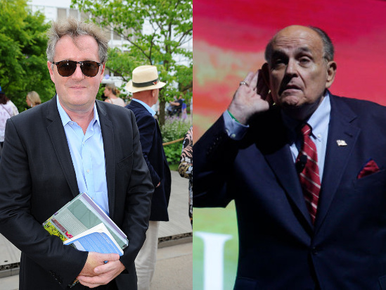 Piers Morgan and Rudy Giuliani Clash Over Trump's Response to Protests (Video)