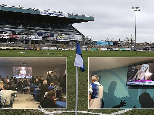 Bristol Rovers launch investigation after Babestation was aired on clubhouse televisions