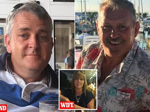 Police find stash of EIGHT guns at home of jealous husband, 53, who shot his wife's secret lover
