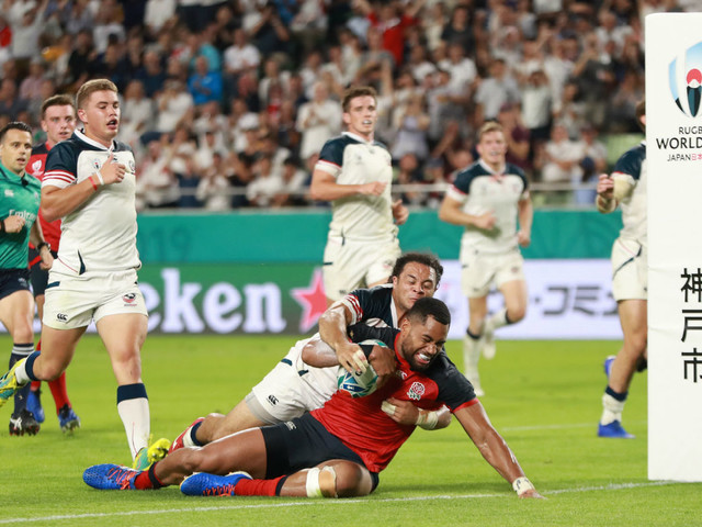 Rugby World Cup diary: magnificent seven for England and Italy