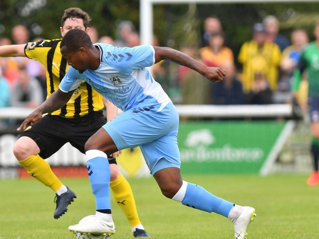 Coventry City new boy sets sights on top prize