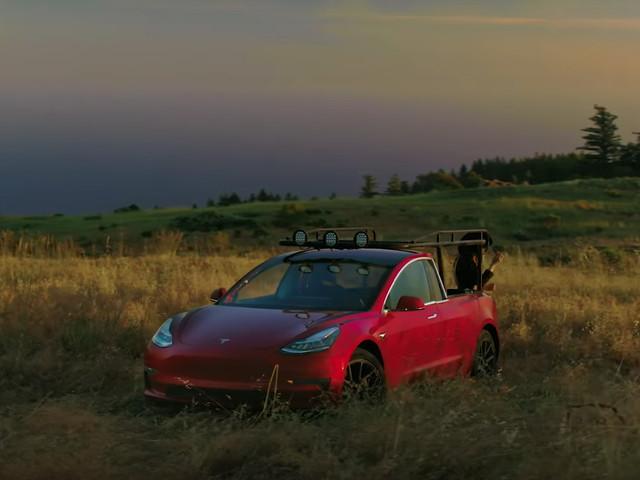YouTube Personality Builds Tesla Pickup Using Chopped Model 3