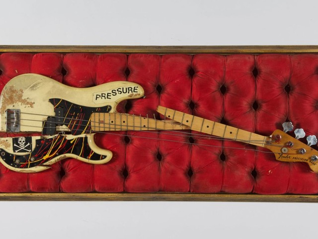 London Calling: Smashed Clash guitar to go on display