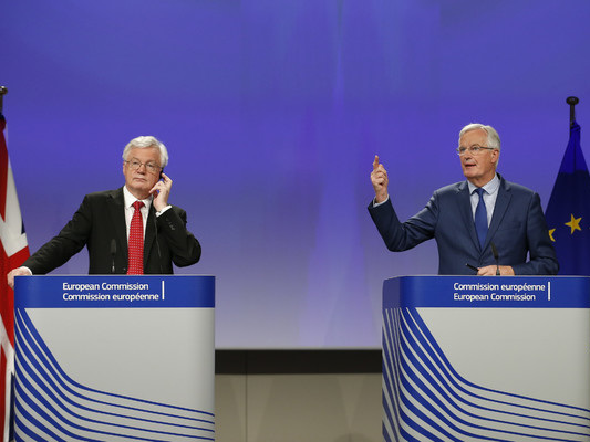 EU chief negotiator: Brexit talks at 'disturbing' deadlock